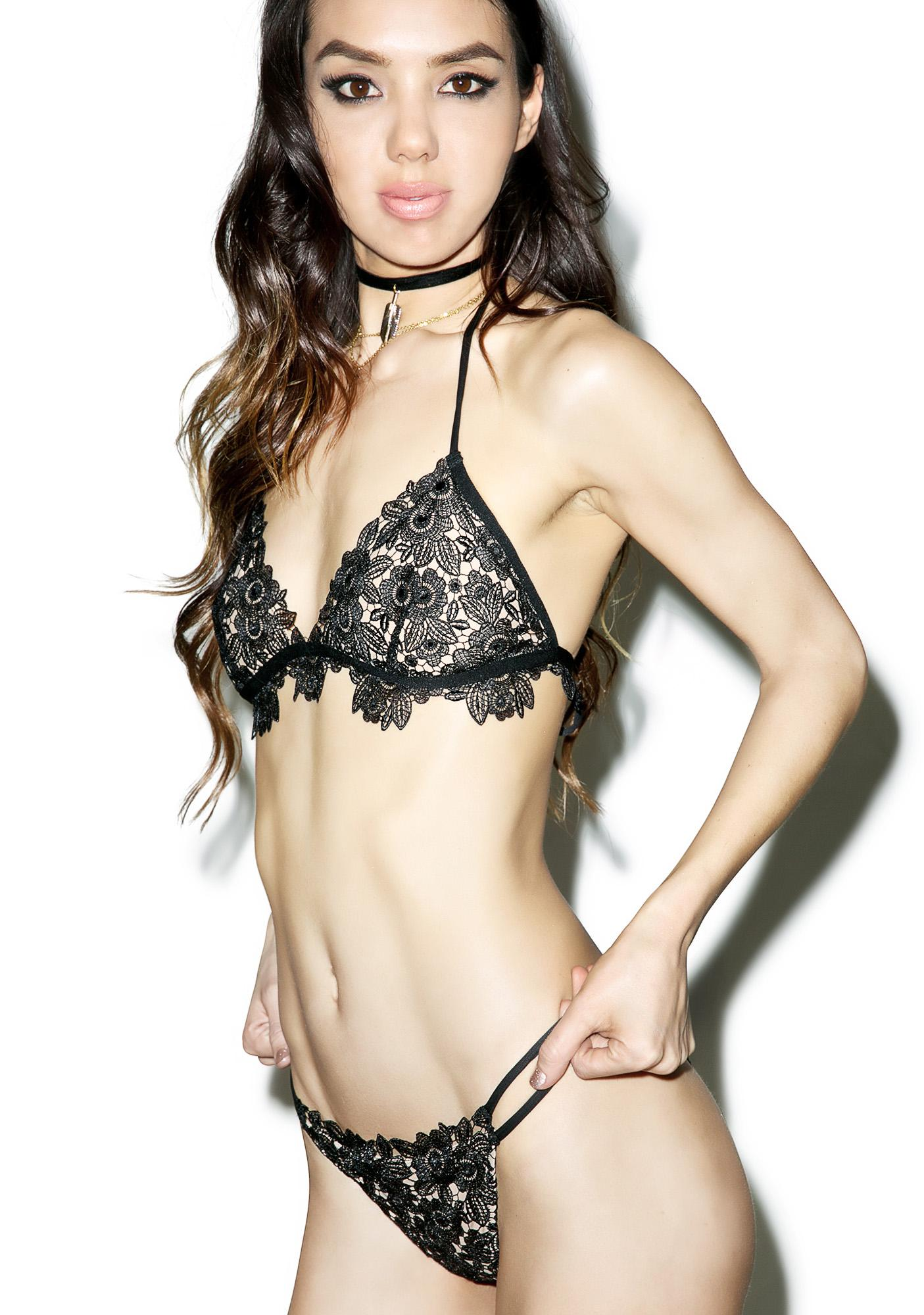 For Love & Lemons Valencia Bikini Top