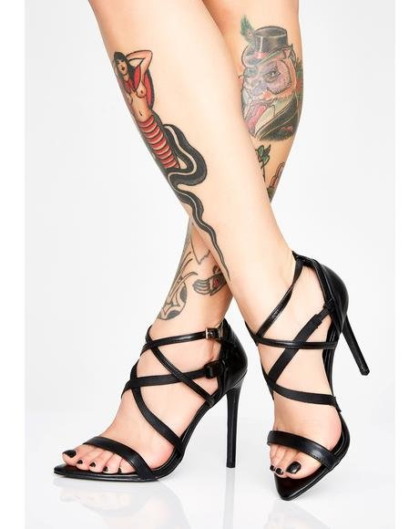 That's A Wrap Strappy Heels