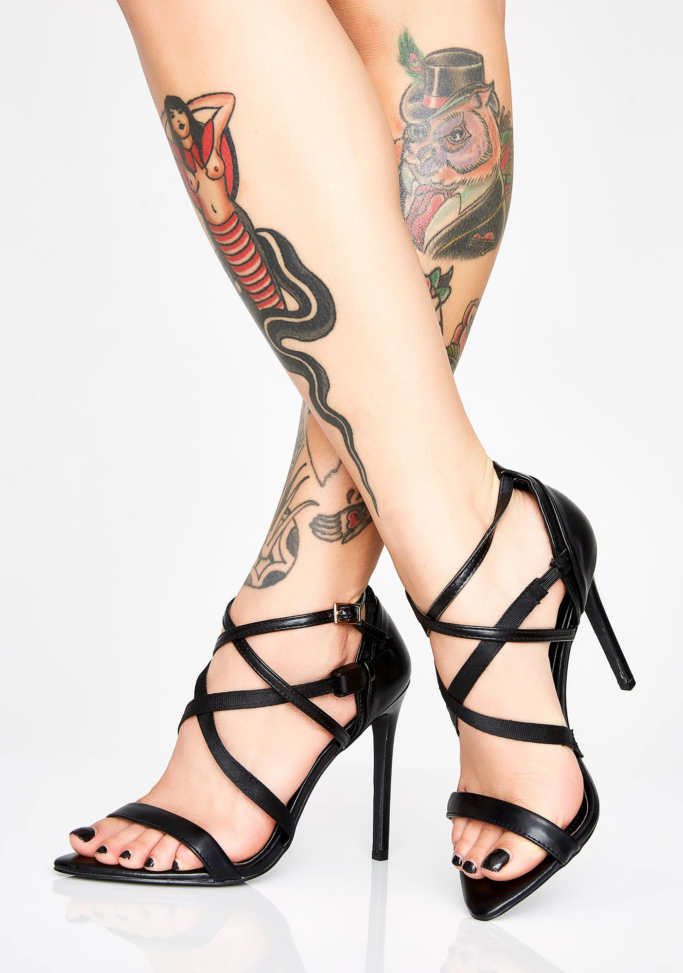 491a2e1df81fa9 That s A Wrap Strappy Heels