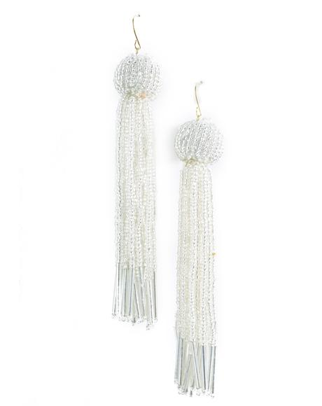 The Silver Charlize Earrings