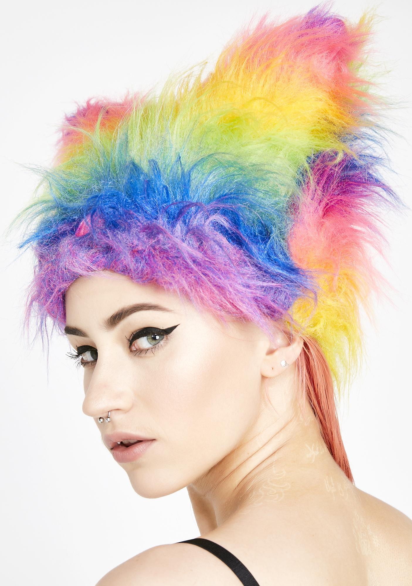 Cyberdog Rainbow Yeti Hat