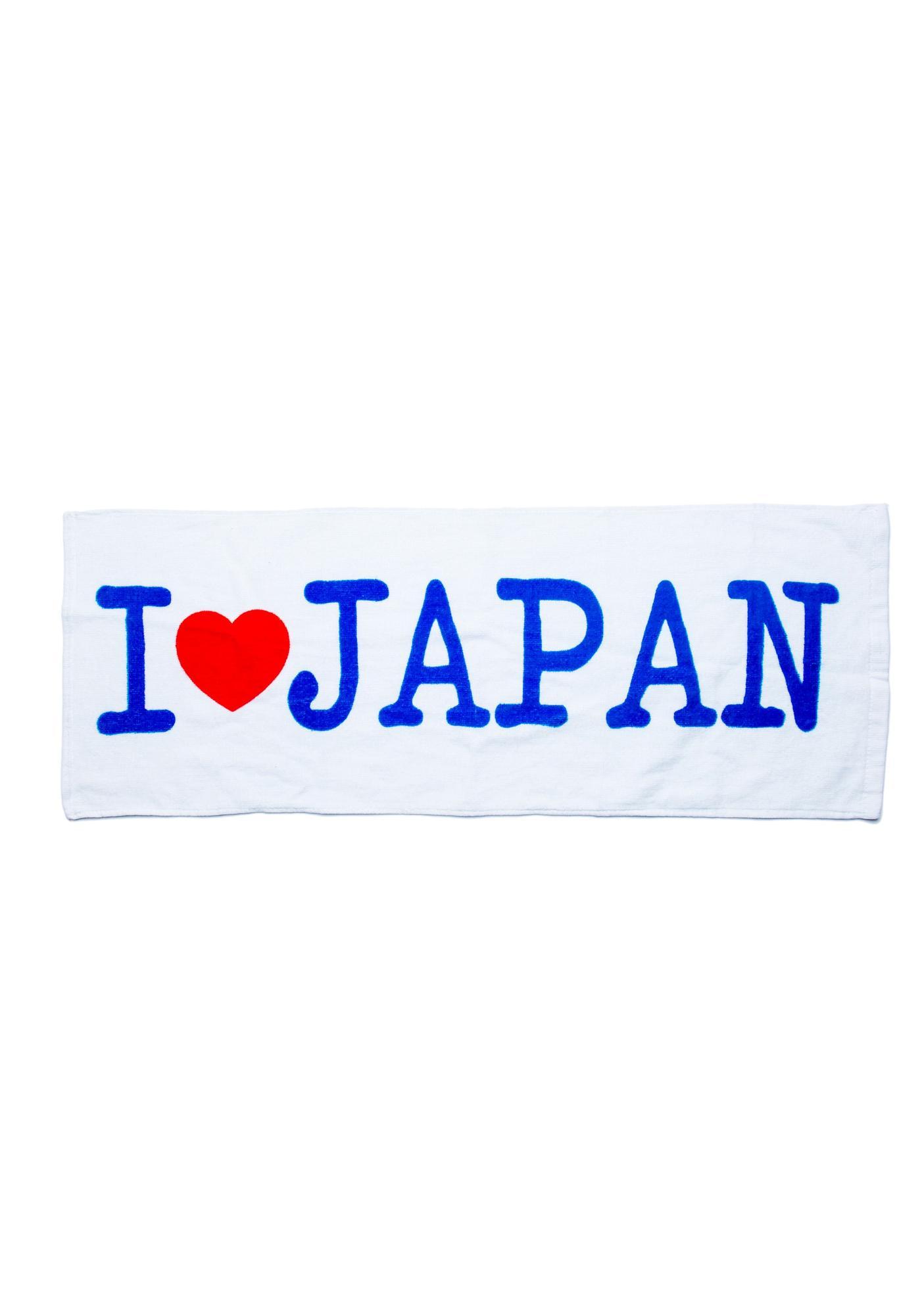 Kitchen Collection Logo I Heart Japan Kitchen Towel  Dolls Kill