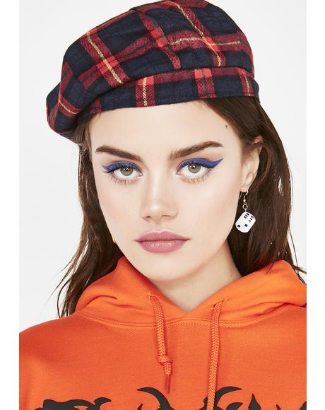 Hellish Uproar Plaid Beret