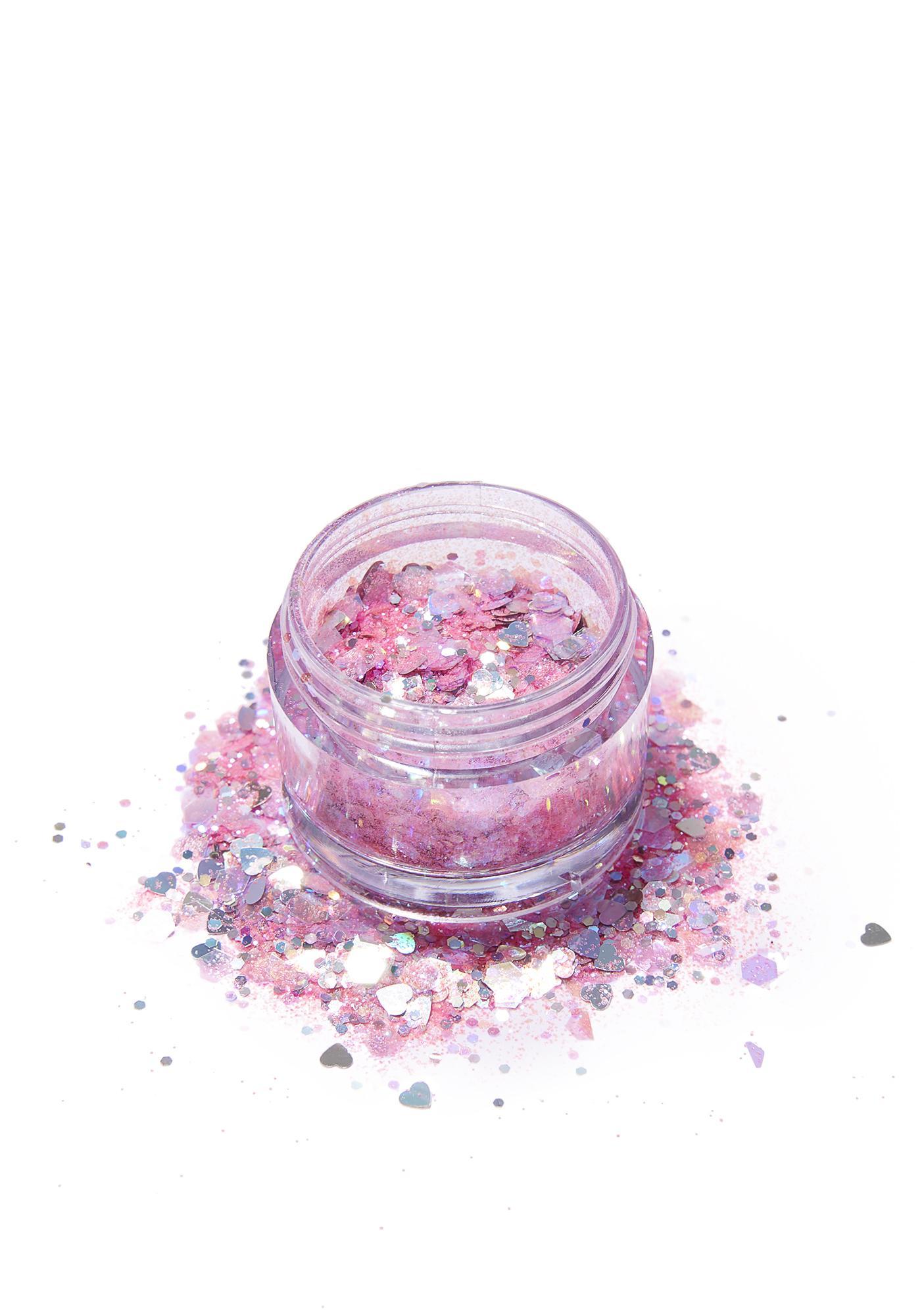 FromNicLove Pink Flamingo Glitter Pot