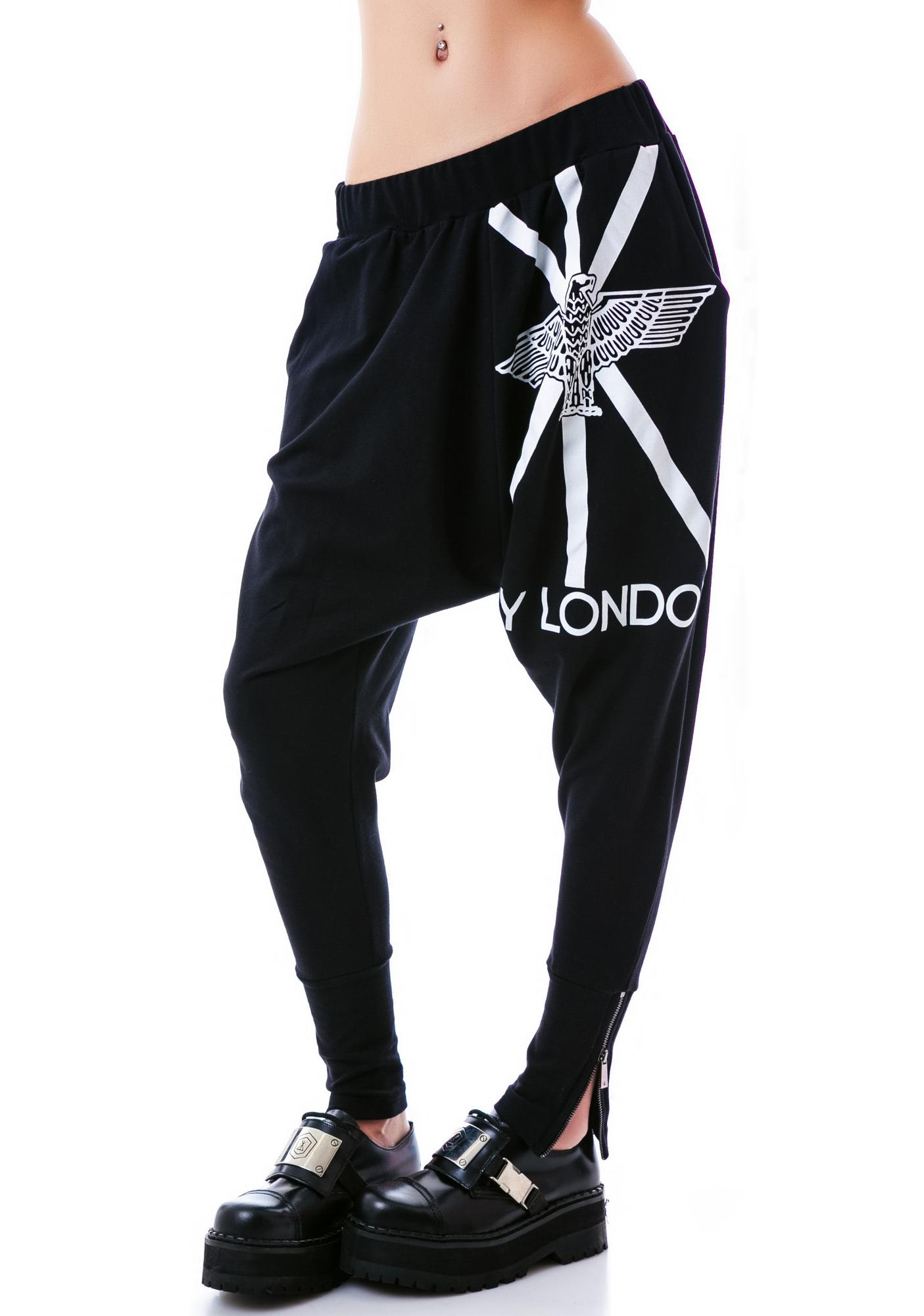 BOY London Jack Eagle Boy London Drop Crotch Pants