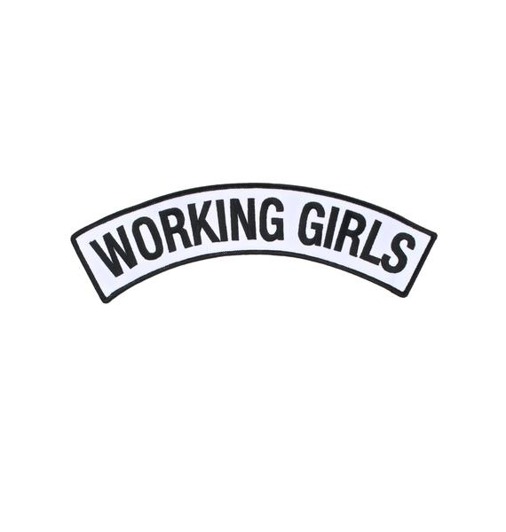 Working Girls Co Doing Work Patch