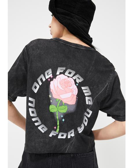 None For You Graphic Tee