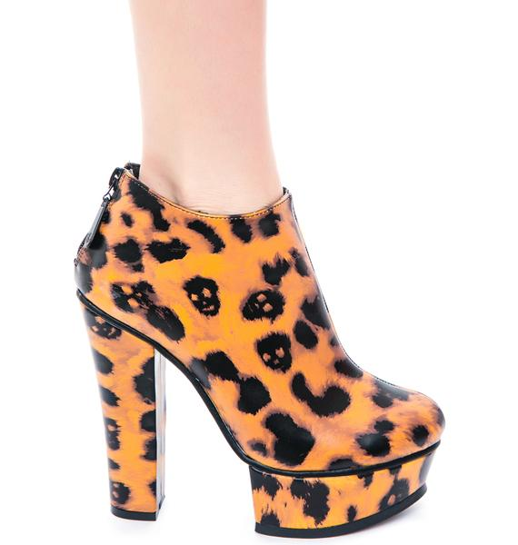 Iron Fist Change Your Spots Platform Bootie