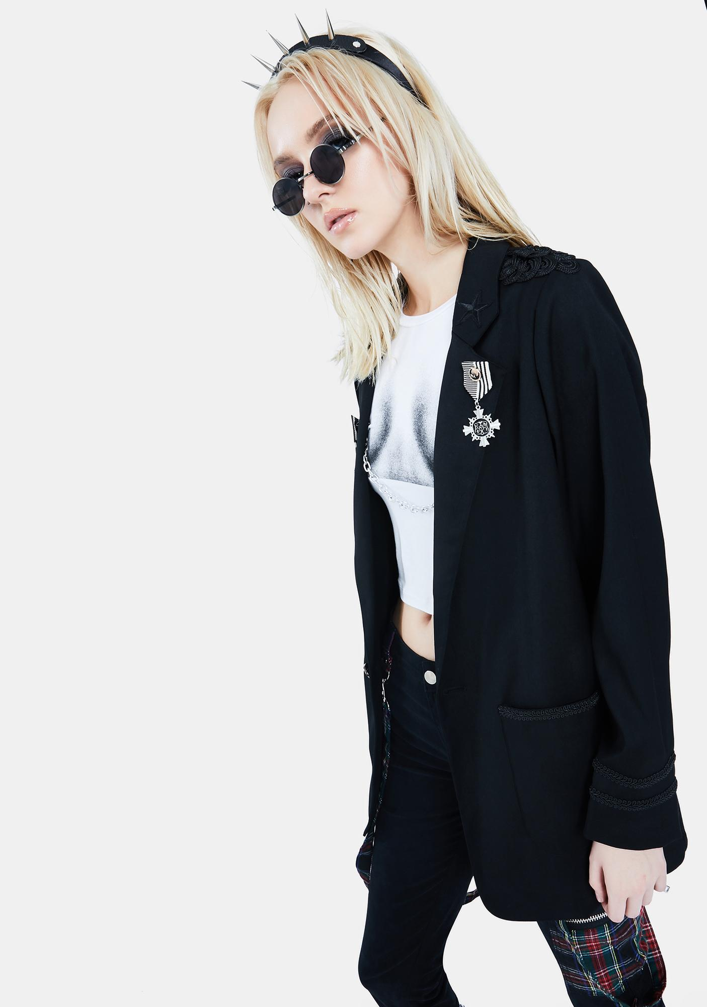 Current Mood Chic Forces Military Jacket