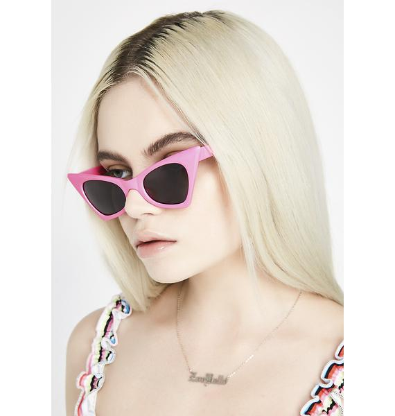 The Cobra Snake Hot Pink Classic Foxy Shades