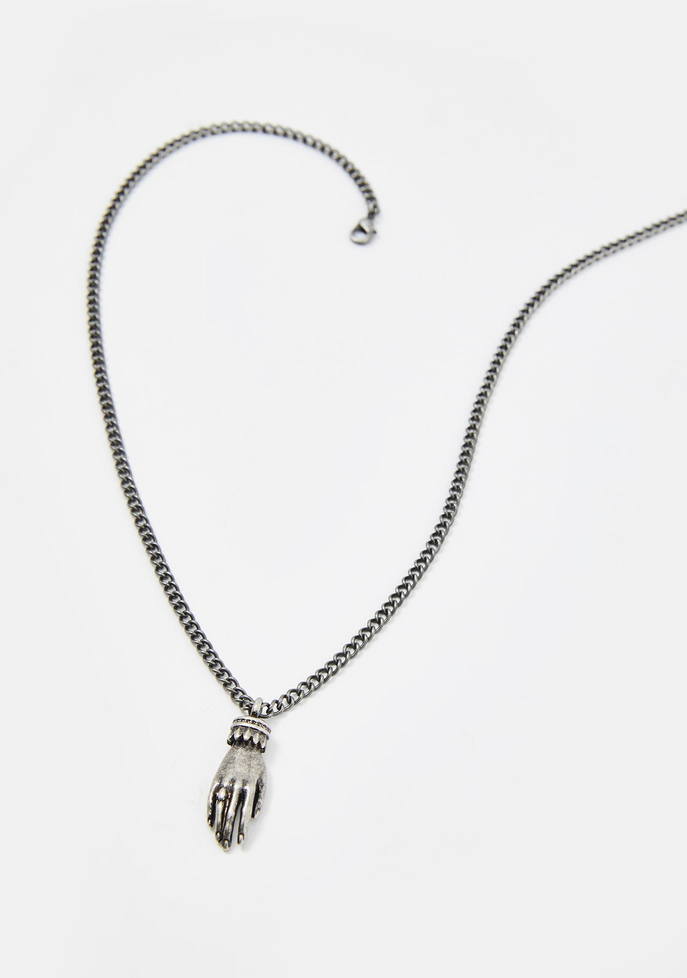Killstar Unseen Hand Necklace