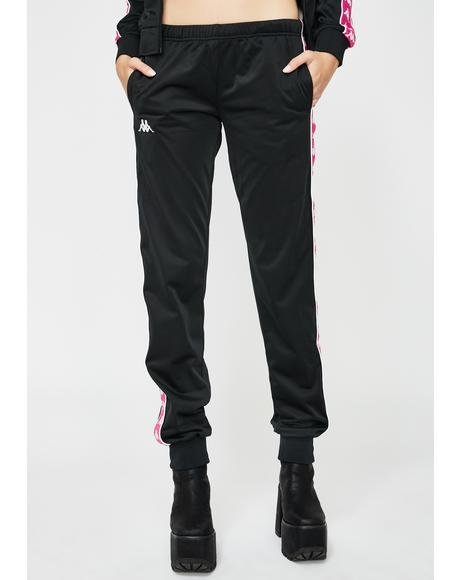 Pink 222 Banda Wastoria Slim Pants