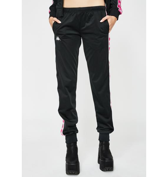 Kappa Pink 222 Banda Wastoria Slim Pants