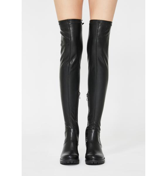 AZALEA WANG Eureva Over The Knee Boots