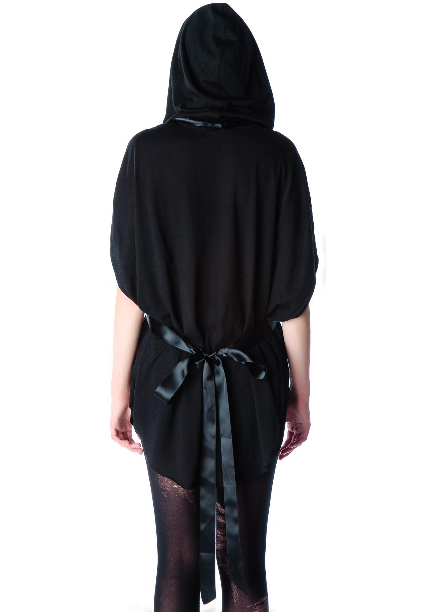 Widow Shadow Hooded Tunic