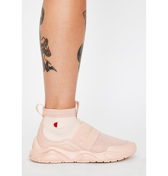 Champion Spiced Almond Rally Sock Sneakers