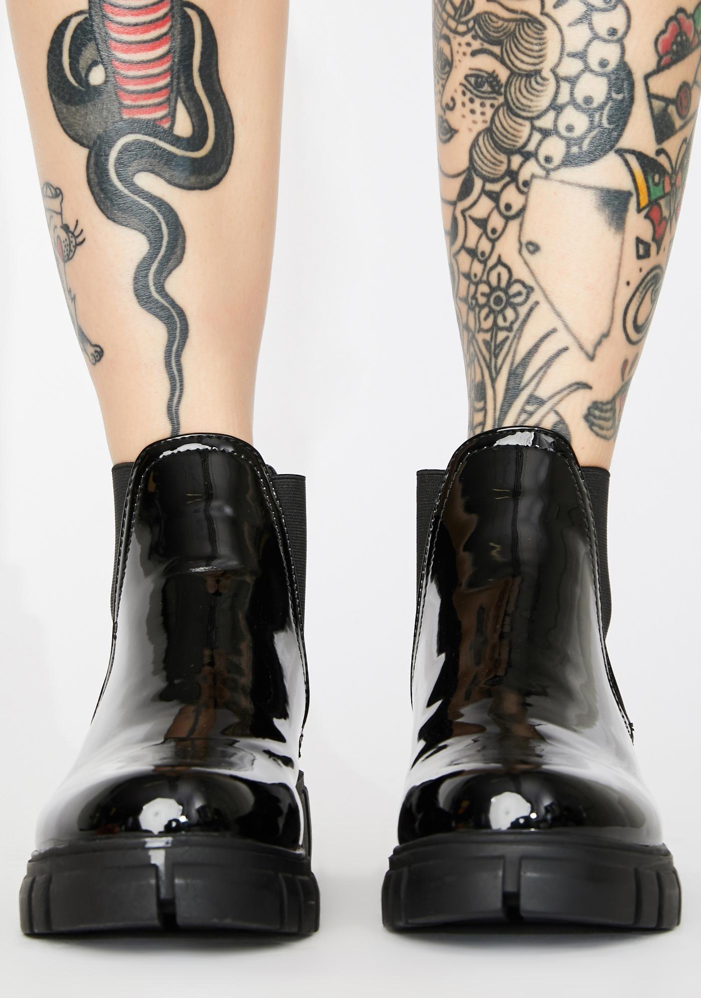 AZALEA WANG Marine Chelsea Boots