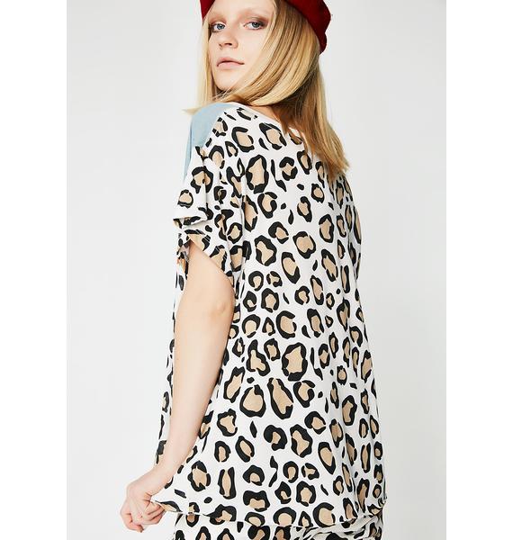 Wildfox Couture Hellcat Romeo V Neck Tee