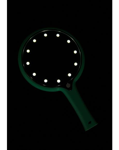Mint LED Light Hand Mirror