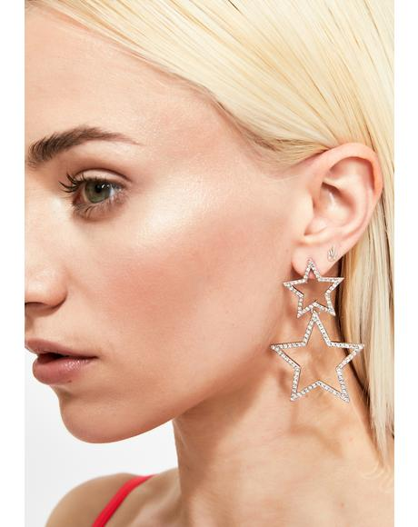 Spotlight Sparkle Drop Earrings