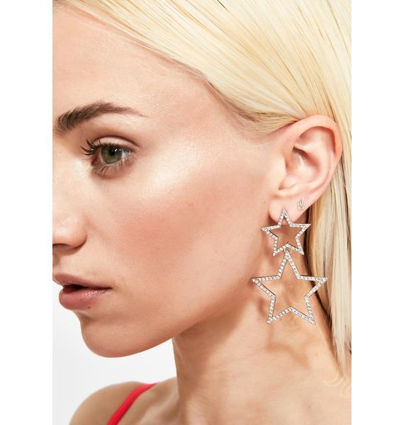 Spotlight Sparkle Drop Earrings