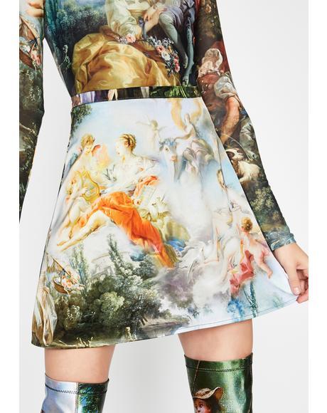 Da Vinci's Demons Mini Skirt