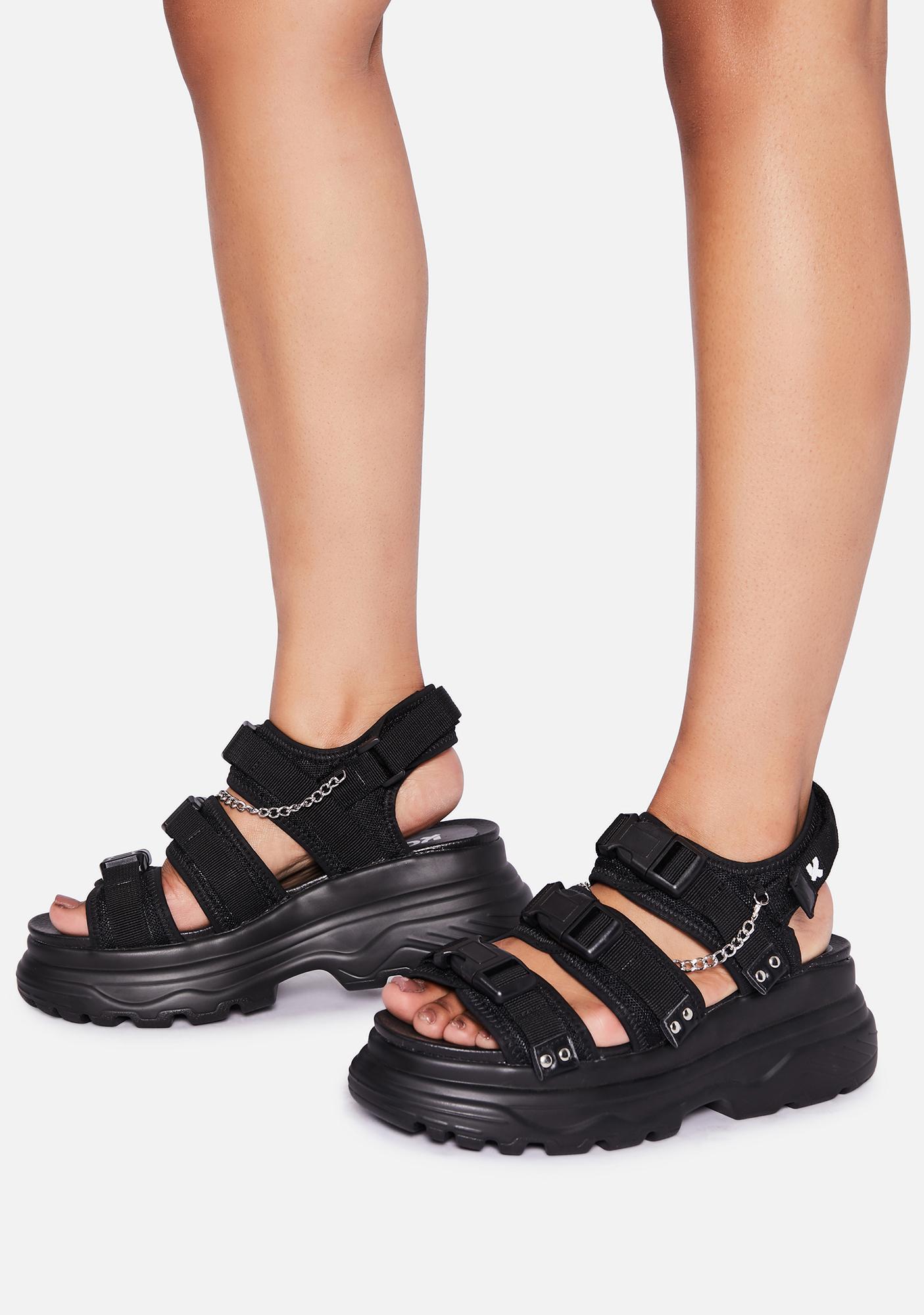 Koi Footwear Sulfur Platform Sandals