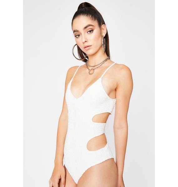 Innocent Sneak Peek Cut Out Bodysuit