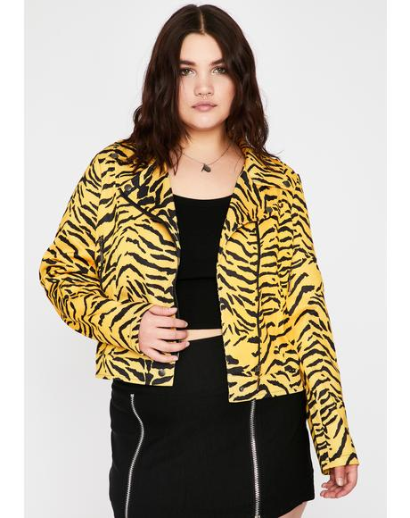 Wild Power Prowl Zebra Jacket