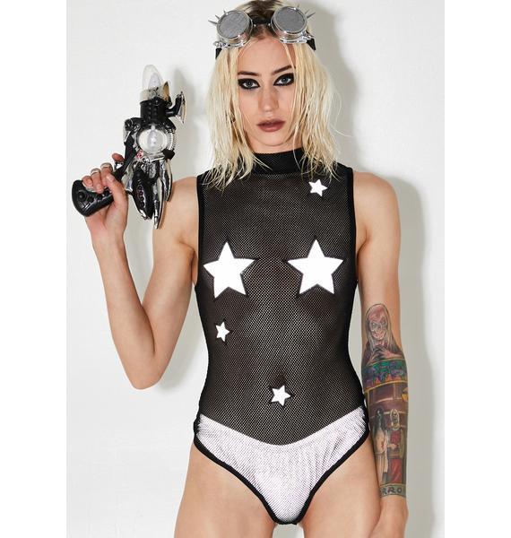 Party Like A Rockstar Sheer Bodysuit