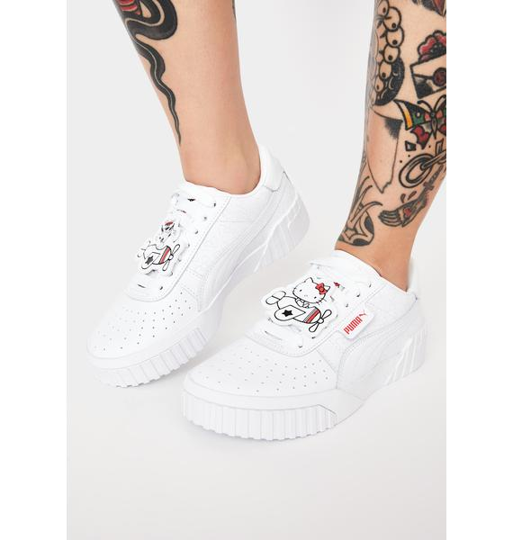 PUMA X Hello Kitty Cali Sneakers