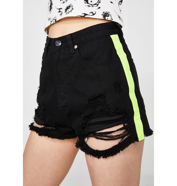 Headlight Haze Denim Shorts