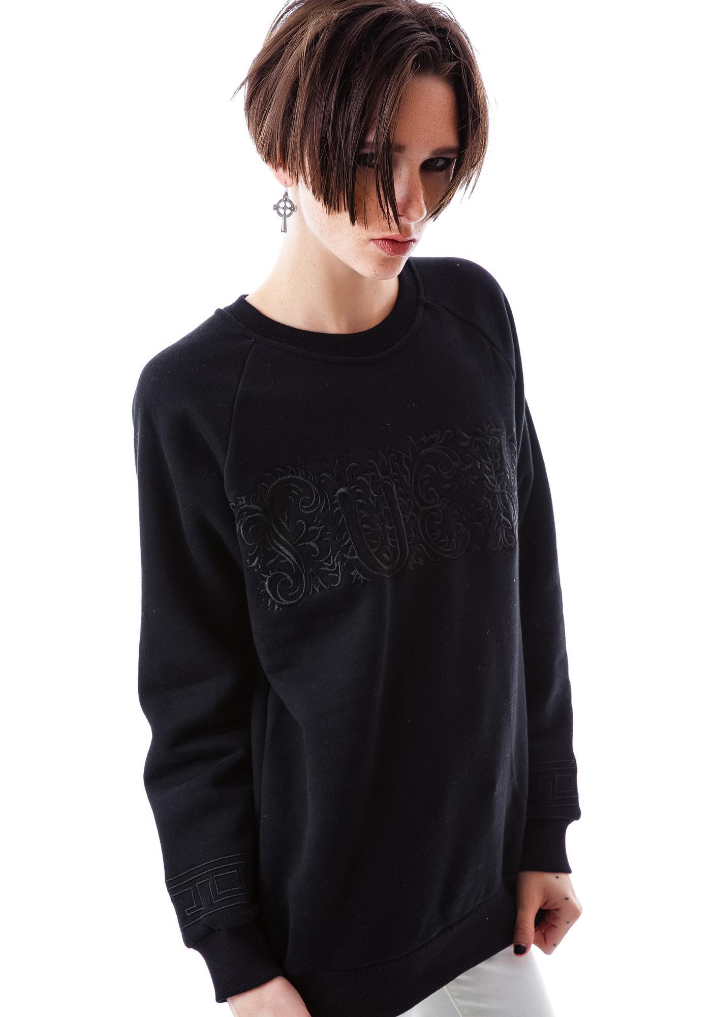 UNIF Fuck Ornate Sweatshirt