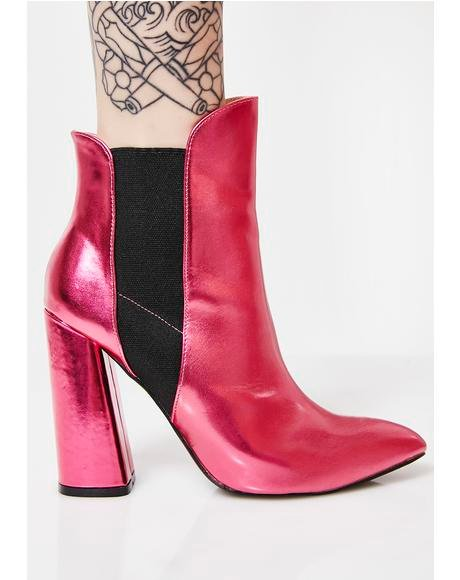 Bentley Block Heel Ankle Boots