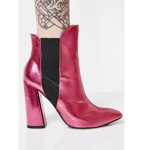 Public Desire Bentley Block Heel Ankle Boots