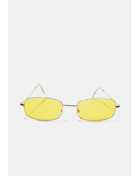 Golden Neo Age Sunglasses