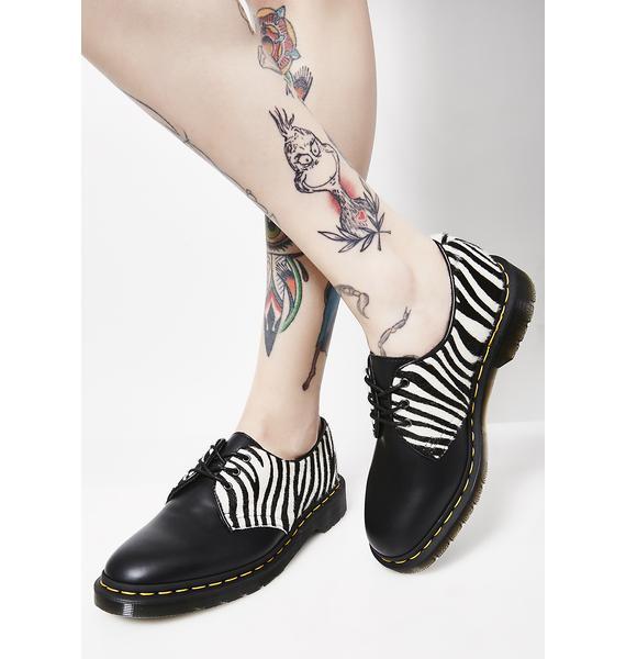 Dr. Martens 1461 Zebra Oxfords