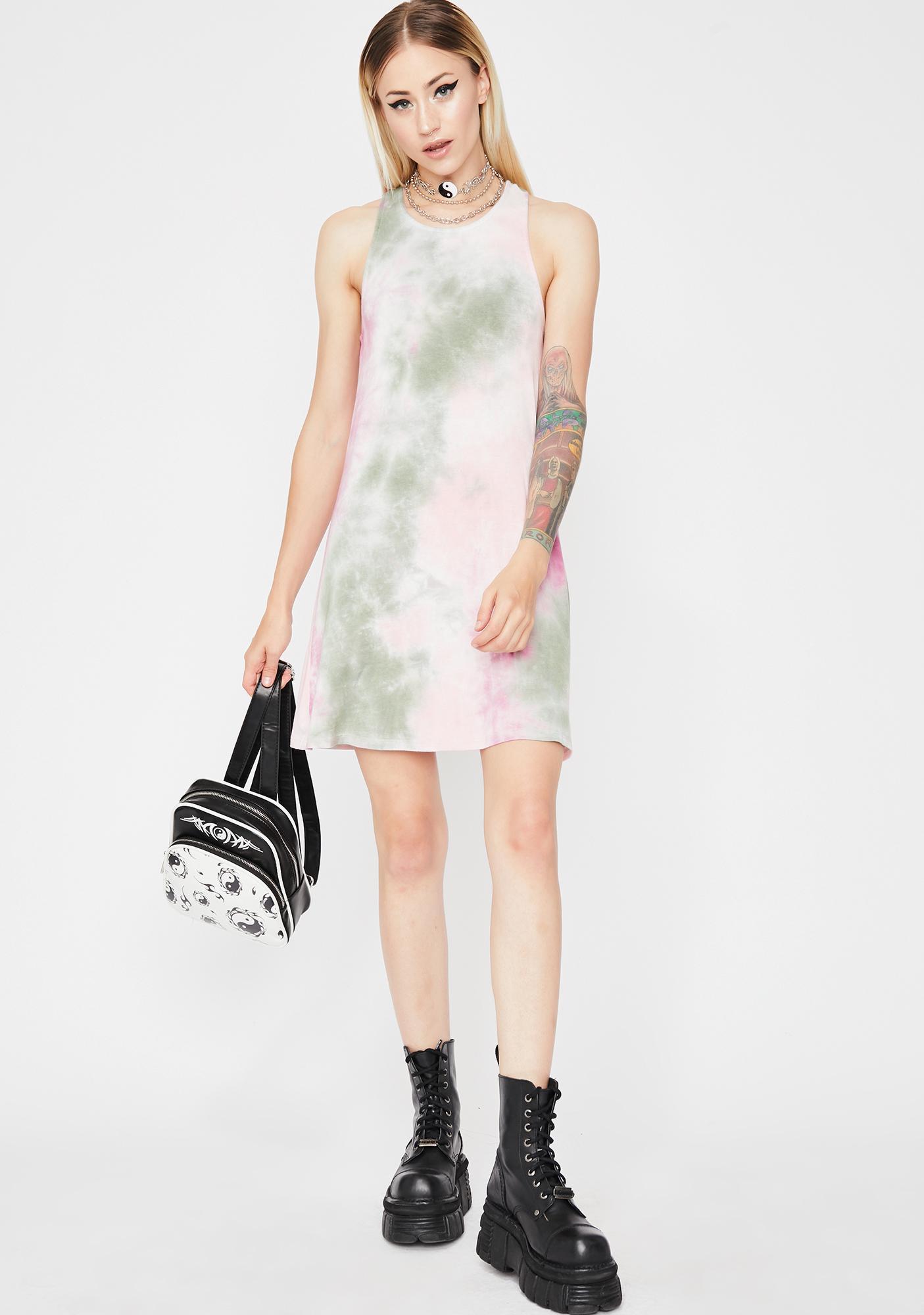 Kush Mixed Feelings Tie Dye Dress