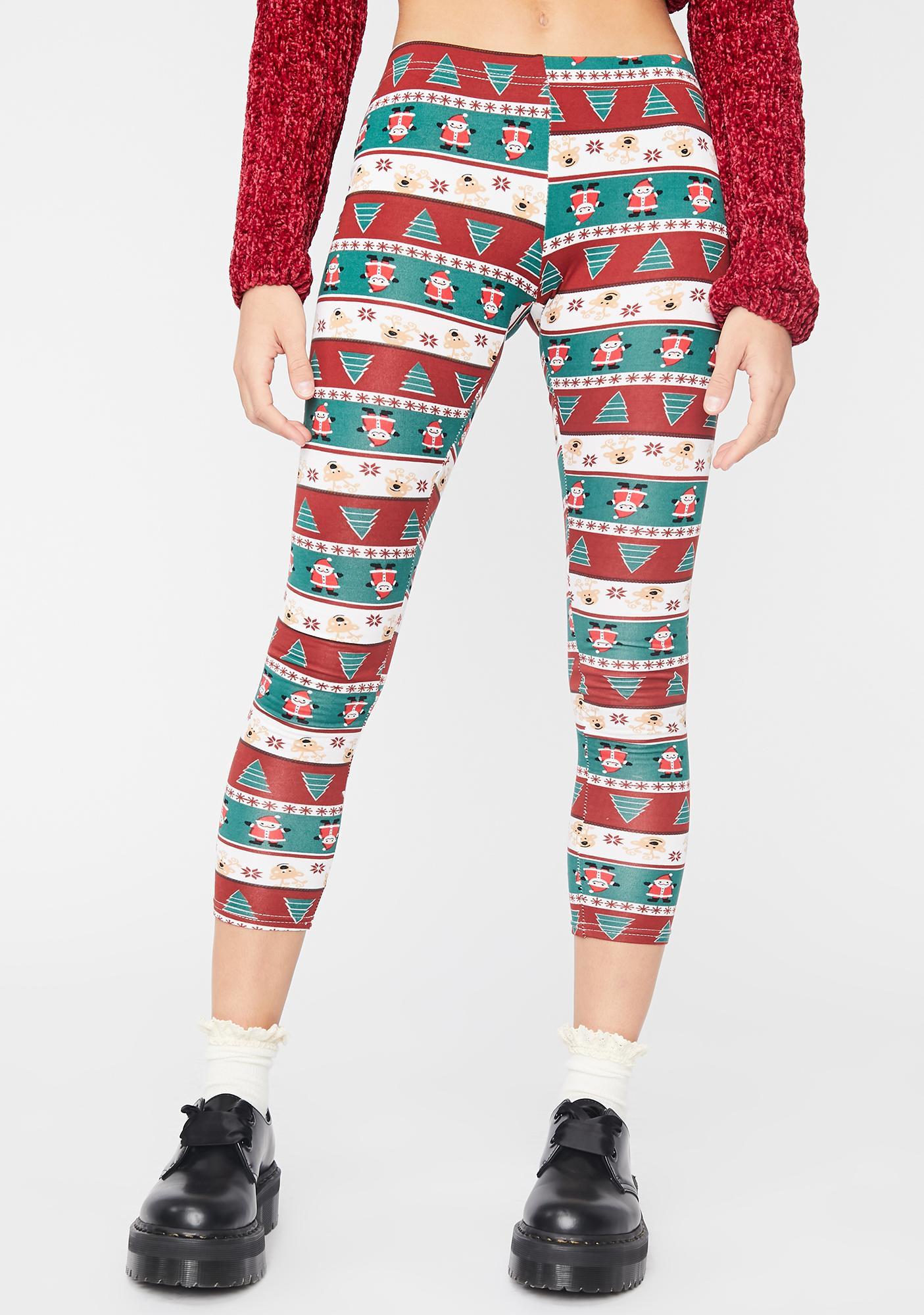 Chill This Season Holiday Leggings