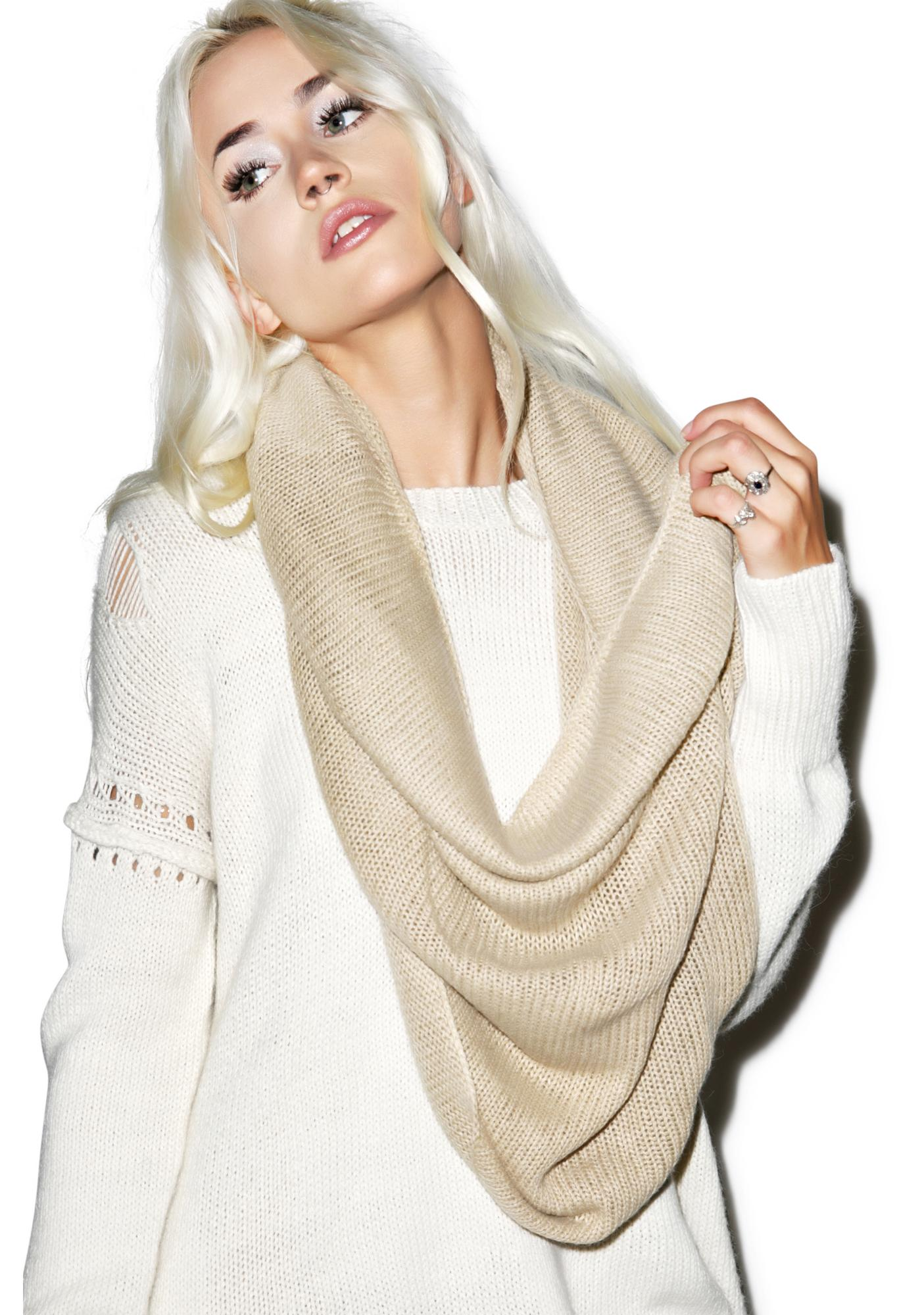 Wildfox Couture Vintage Angora Snood