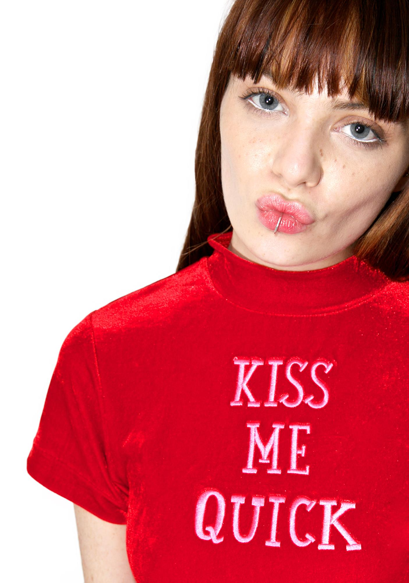 Jane Carr Homme Accessories: Kiss Me Quick Collection