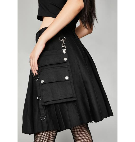 Widow Nocturnal Blitz Bondage Kilt Skirt