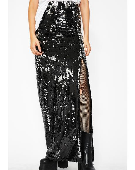 Forever Shinin' Sequin Skirt