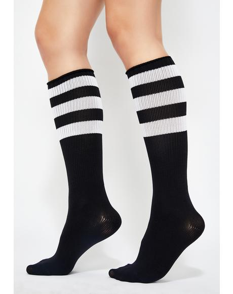 Unbothered Bae Athletic Socks
