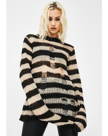 Rag Stripe Sweater