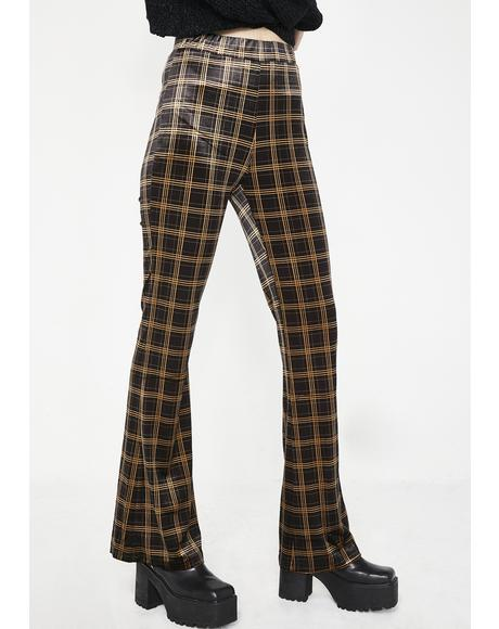 Werkin' For It Plaid Pants