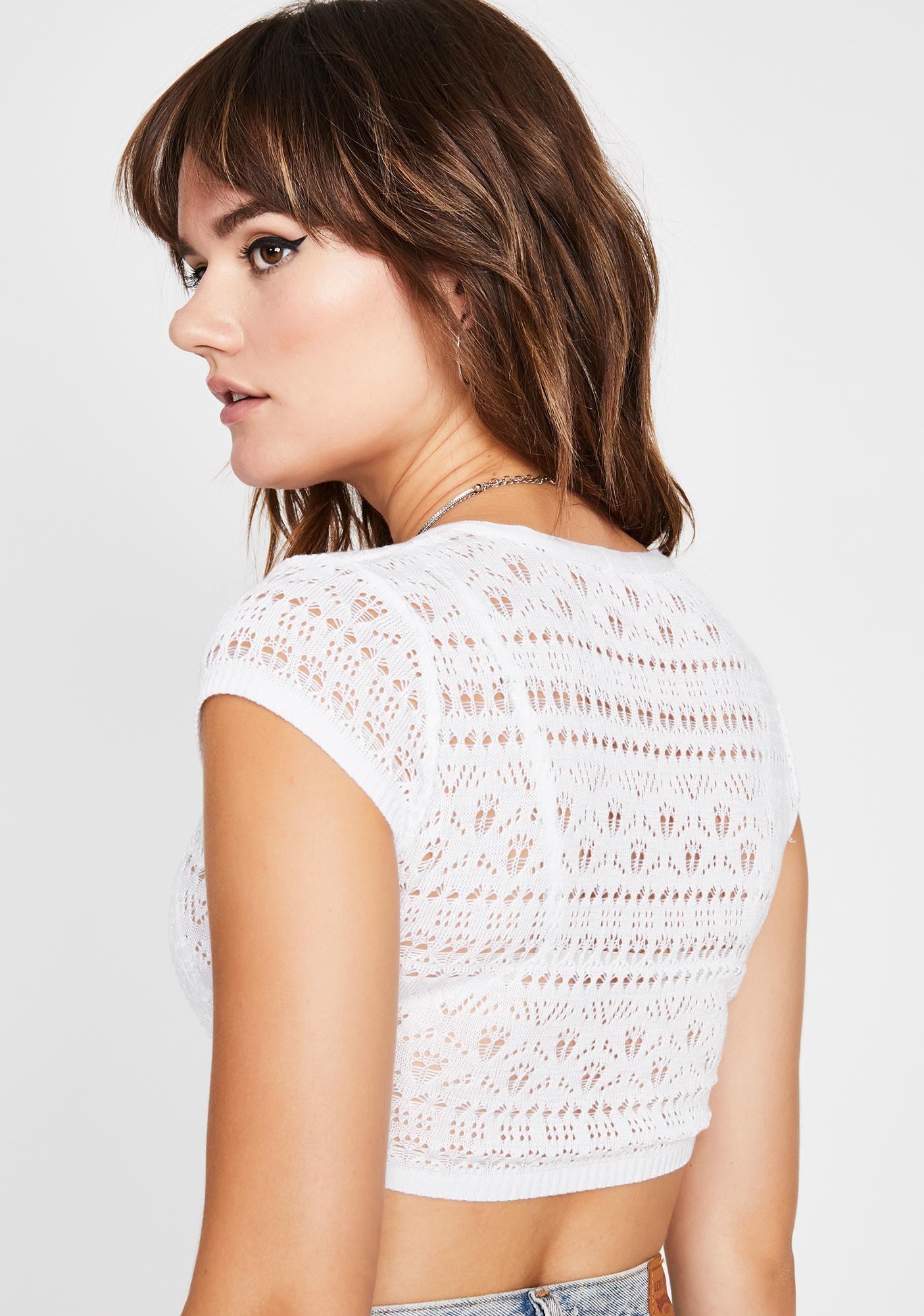 Boo B Mine Crochet Top