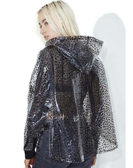 Wildcat Transparent Raincoat