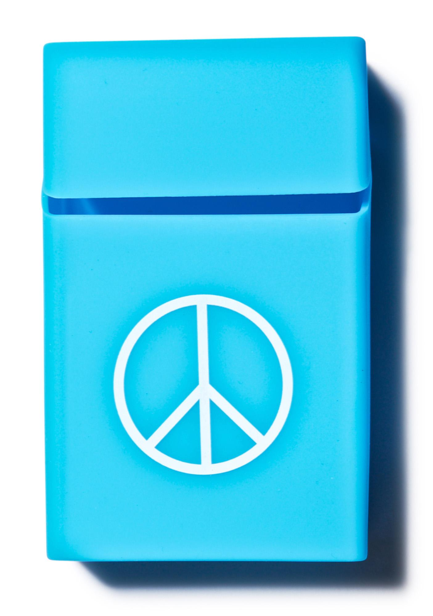 Peace Out Cigarette Case