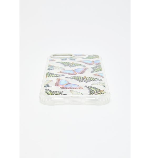 Skinnydip Butterfly House Shock iPhone Case